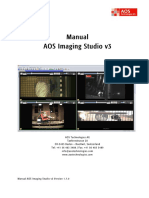 Manual AOS Imaging Studio v3 v1.7.0