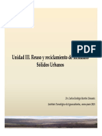 Unidad III Residuos Solidos Urbanos