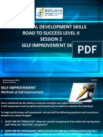 02. Session 2 - Self Improvement Skills