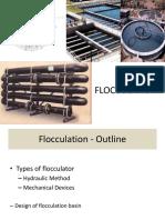 Flocculation design