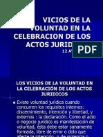 Clase Vicios de La Voluntad