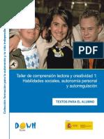 0 Taller Comprension Lectora Abilidades Sociales Autonomia Down