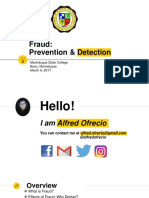 2018-03-06 Accounting Fraud - Detection and Prevention