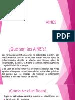 Aines_farmacologia