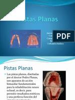 PISTAS PLANAS