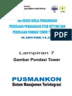 Lamp 7 Gambar Pondasi Tower.pdf