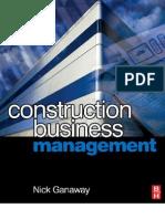 Construction Business Management - 075068108X