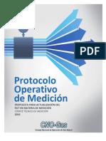 Protocolo Operativo de Medicion