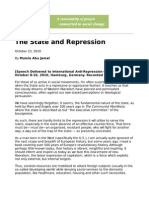 Mumia Abu Jamal 2010 - The State & Repression