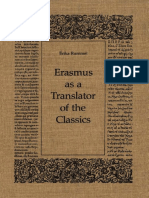 [Erasmus Studies] Erika Rummel - Erasmus as a Translator of the Classics (1985, University of Toronto Press)