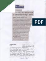 Manila Standard, June 24, 2019, Water crisis prompts Arroyo to convene oversight panel.pdf