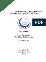 Lab Manual Power Electronics