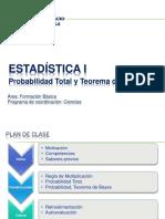 Estadistica I - Semana 8 -Teorema Bayes