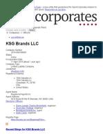 KSG Brands LLC __ OpenCorporates