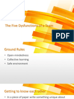 5 Dysfunctions