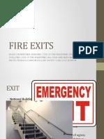 Fire Exits - Mark Edmine