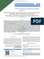 A Study of Risk Factors and Foot Care Behavior Amo (3)