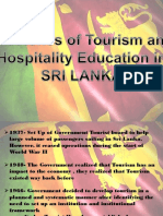 Sri Lanka Tourism Education