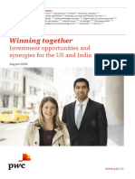 Winning Together Investment Opportunities and Synergies for the Us and India