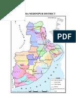Medinipur District Map