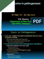 Plant Toxins