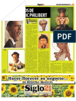 Dominic Philibert - Siglo 21 No. 548 - Nov - 4 - 2010
