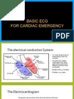 Basic ECG in Cardiac Emergency