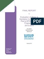 Water Sanitation Urban Poor