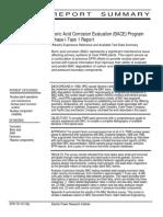 Boric Acid Corrosion Evaluation