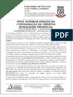 Curso Superior de Bacharel Em Teologia Através Da Convalidação de Créditos Já Estudados - PDF