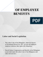 Employee Benefits Ppt