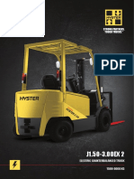 Specification Hyster