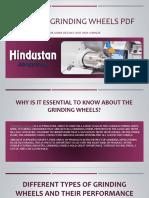 Types of Grinding Wheels PDF