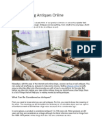 Tips On Selling Antiques Online.pdf
