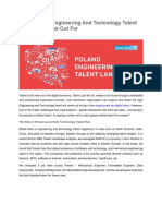 Poland – The Engineering And Technology Talent Hotspot To Look Out For