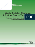 Cyclic Division Algebras - A Tool for Space-Time Coding   (  Frederique Oggier  ;   Jean-Claude Belfiore  ).pdf