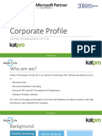 Katpro General Portfolio