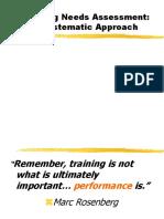Training Need Analysis