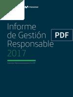 Informe de Gestión Responsable 2017