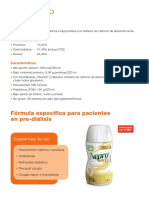 Nutricion (Adulta e Infantil) - Dietas Estandar Por Patologia - Enfermedad Renal Crónica (ERC) Dialisis - NEPRO LP