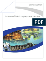 .......Evaluation of Fuel Quality Impact on Heat Rate