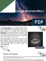 Oort Cloud Kuiper Belt. Gerial Celyn Jasmine.