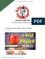 La voz pasiva en inglés (Passive Voice) - Aprende Inglés Sila.pdf
