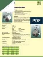 Sanitary Grade Electromagnetic Flow Meters Food & Drug Industry