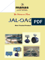JAL-OAGH wafer style electromagnetic flow meters for water metering