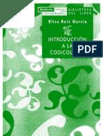 [Biblioteca del libro] Elisa Ruiz García - Introducción a la codicología (2002, Fundación Germán Sánchez Ruipérez).pdf