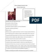 Discurso de Rigoberta Menchú