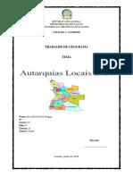 As Autarquias Locais 2020