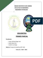 01 04 2019 1er Parcial de Prospeccion Umsa Petrolera
