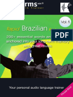 EarWorms Rapid Brazilian Portuguese Vol 1